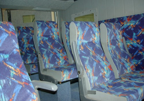 ריפוד ודיפון אוטובוס ממוגן