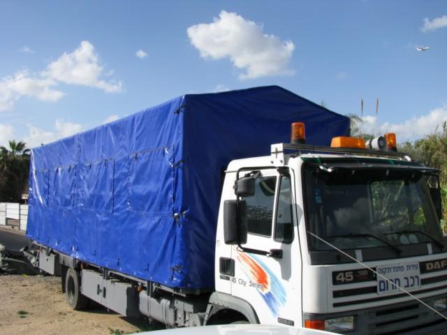 כיסוי ברזנט למשאית
